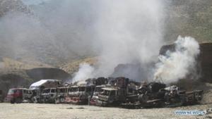 Căn cứ hậu cần của Mỹ ở tỉnh Nangarhar từng bị tấn công vào các tháng 9 và 11-2013.