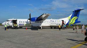 Một chiếc máy bay của MASwings. (Ảnh: Flickr)