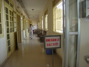 Bệnh viện Đa khoa tỉnh bố trí khu cách ly đặc biệt bệnh nhân nhiễm MERS-CoV nếu có dịch xảy ra.