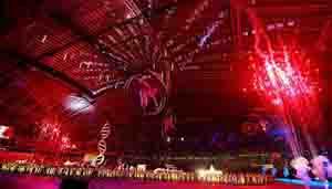 Lễ khai mạc SEA Games 28. (ảnh: Hải Đăng)