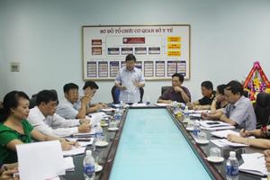 Đồng chí Bùi Văn Cửu, Phó Chủ tịch UBND tỉnh kết luận tại cuộc họp.