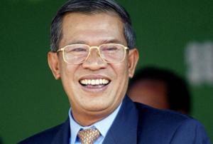 Tân Chủ tịch CPP Hun Sen. (Ảnh: Telegraph)