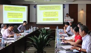 Đồng chí Nguyễn Văn Dúng, Phó Chủ tịch UBND tỉnh, Trưởng Ban chỉ đạo Dự án chủ trì phiên họp.