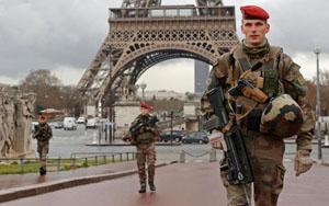 Binh sĩ Pháp tăng cường tuần tra trước thềm EURO 2016