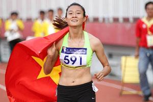 Tú Chinh giành huy chương vàng 200m nữ trẻ châu Á