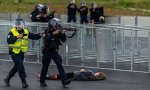 Cảnh sát tập trận chống khủng bố EURO 2016