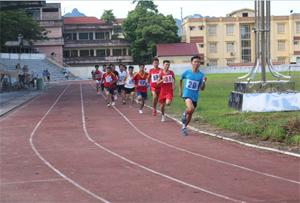Các VĐV thi đấu nội dung 1.500m nam.