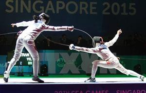 Môn đấu kiếm tiếp tục mang thêm suất dự Olympic Rio 2016 cho thể thao Việt Nam