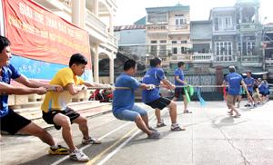 Các đội tham gia nội dung kéo co tại giải đấu.