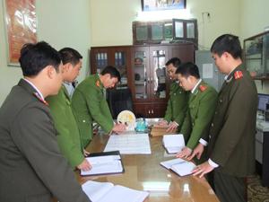 Công an huyện Yên Thủy: Vì sự bình yên của nhân dân