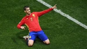 A. Morata - chân sút xuất sắc của đội tuyển Tây Ban Nha