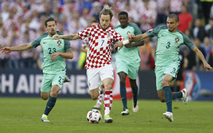 Chiến thuật hợp lý đã giúp Bồ Đào Nha vô hiệu hóa khả năng tấn công của đối thủ. Ảnh: Reuters.
