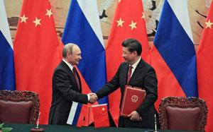 Tổng thống Putin và Chủ tịch Tập Cận Bình đã chứng kiến lễ ký hơn 30 thỏa thuận hợp tác trên nhiều lĩnh vực.