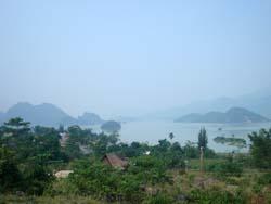 Thung Nai hôm nay. Ảnh Việt Lâm