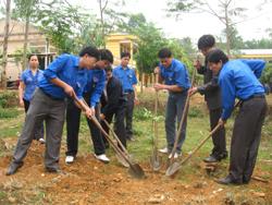 Trồng thêm một cây xanh là thêm một hành động vì môi trường