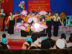 Trung Bì luôn là điểm sáng về phong trào văn hoá, văn nghệ của huyện Kim Bôi