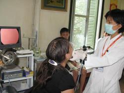 Một trường hợp điều trị ung thư thanh quản tại Bệnh viện Hồng Hà (Hà Nội)
