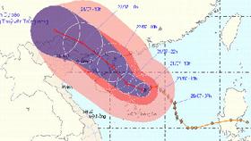 Đêm mai (22/7), các  tỉnh vùng núi phía Bắc và khu Đông Bắc Bắc Bộ sẽ có mưa vừa, mưa to đến rất to.