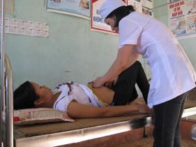 Trạm y tế xã Đồng Tâm (Lạc Thuỷ) một trong những trạm đạt chuẩn sớm trong tỉnh.