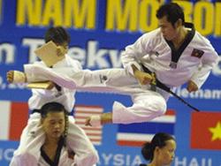 Nội dung biểu diễn của hệ phái Taekwondo ITF