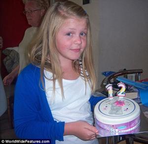 Karis Darling trong sinh nhật lần thứ 12