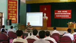 Toàn cảnh buổi tập huấn triển khai áp dụng hệ thống quản lý chất lượng TCVN ISO 9001:2008.