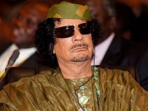 Ông Muammar Gaddafi.
