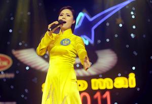 Thí sinh Lương Nguyệt Anh.