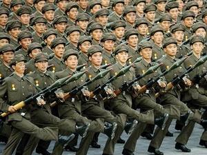 Binh lính Triều Tiên.