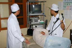 Bệnh viện Đa khoa huyện Lạc Thuỷ được đầu tư thiết bị hiện đại đáp ứng nhu cầu khám - chữa bệnh của nhân dân.