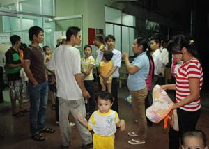 Hơn 50 trẻ lớp mầm ở Bình Dương nhập viện chiều 29/7.