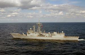 Tàu chiến TCG Gediz của Thổ Nhĩ Kỳ.