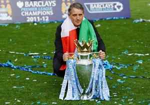 Mancini sẽ gắn bó với Man City thêm 5 năm - Ảnh Getty