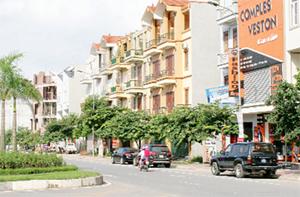 Một góc khu dân cư Bắc Trần Hưng Đạo (TPHB) thực hiện theo quy hoạch và quản lý tốt quy hoạch.