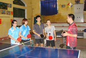 Đội tuyển bóng bàn THPT tỉnh ta đang có bước chuẩn bị tốt về chuyên môn, thể lực, tâm lý sẵn sàng cho các cuộc đấu tại HKPĐ toàn quốc 2012.