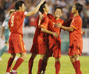 ĐT Việt Nam sẽ được thi đấu ít nhất 5 trận giao hữu - Ảnh: Sơn Dũng.