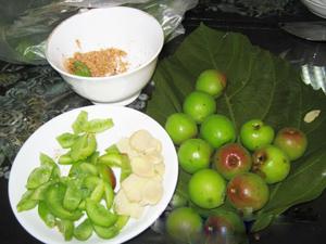 Độc đáo cách ăn chua của người Thái Tây bắc.