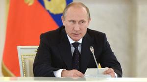 Tổng thống Nga Vladimir Putin. (Ảnh: RIA Novosti)