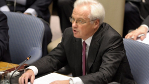 Đại sứ Nga tại LHQ Vitaly Churkin (ảnh: Itar-tass)