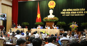 Kỳ họp thứ 11, HĐND tỉnh khóa XV thành công tốt đẹp