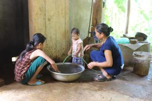 Công trình cung cấp nước sạch được đầu tư sửa chữa, nâng cấp đáp ứng nhu cầu sử dụng nước sạch cho 87,87% hộ dân xã Chiềng Châu (Mai Châu).