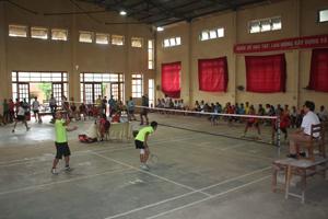Các vận động thi đấu tại giải.