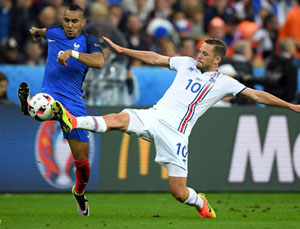 Iceland đã không làm khó được đội chủ nhà Pháp