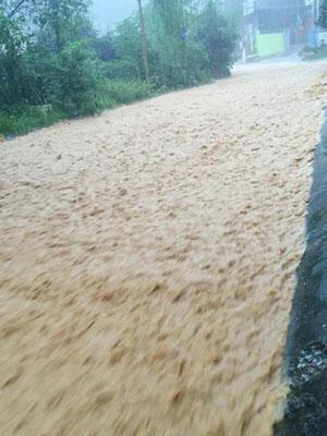 Lũ bùn tại Quảng Ninh