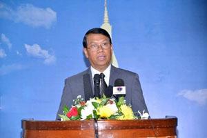 Quyền phát ngôn viên Bộ Ngoại giao Lào, ông Bounnem Chuonghom (Nguồn: Phân xã Vientiane)