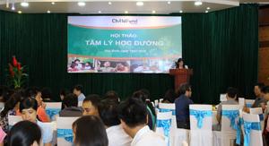 Các đại diện tham gia phát biểu thảo luận tại hội thảo.