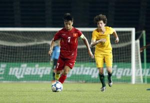 Việt Nam đã khởi đầu trận đấu thuận lợi với 2 bàn thắng dẫn trước