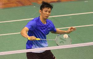 Tiến Minh nằm ở bảng đấu có Lin Dan