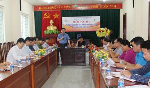 Đồng chí Nguyễn Văn Chương, Phó Chủ tịch UBND tỉnh, Trưởng BCĐ Du lịch tỉnh kết luận hội nghị.