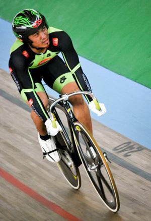 Tay đua Azizulhasni Awang là niềm hy vọng của Malaysia.